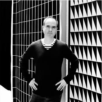Craig at Marimekko in Helsinki